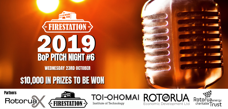 2019 Pitch Night @ Toi Ohomai Institute of Technology - L Block | Rotorua | Bay Of Plenty | New Zealand